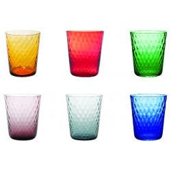 Set di 6 tumbler Veneziano assortiti