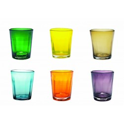 Set di 6 tumbler Bei assortiti